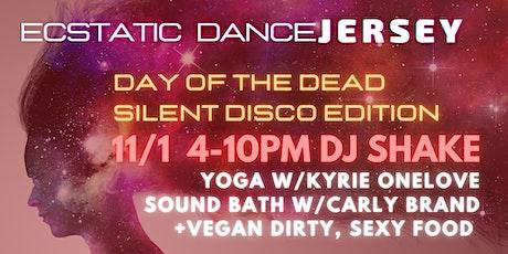 Ecstatic Dance SiLENT DiSCO DJShake+CarlyBrand+KyrieOneLove &DirtySexyFood tickets