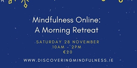 A mindful morning: the online retreat tickets