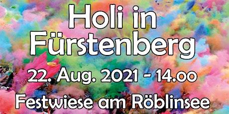 HOLI in Fürstenberg tickets
