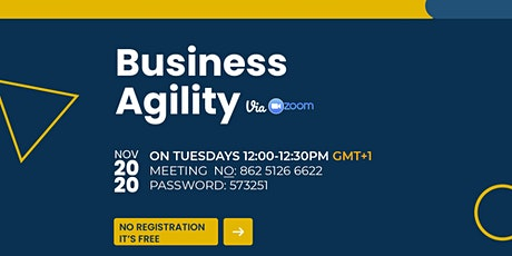 Business Agility tickets