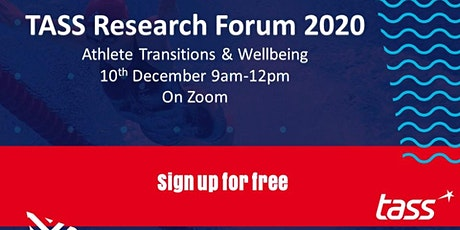 TASS Research Forum: Athlete Wellbeing & Transitions tickets