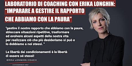 Laboratorio di coaching con Erika Longhin tickets