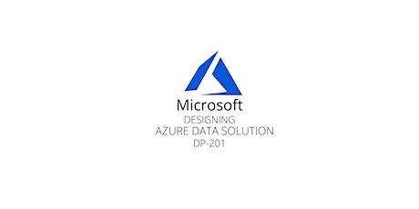 Wknds Designing Azure Data Solution(DP-201)Training Course Marlborough tickets