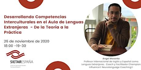 Webinar: Competencias Interculturales en el Aula de Lenguas Extranjeras entradas