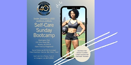 """Self Care Sunday"" Outdoor Bootcamp tickets"