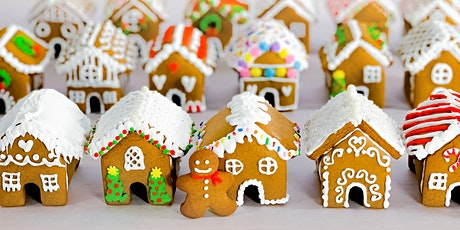 BIG KIDS Gingerbread House decorating (for Adults) tickets
