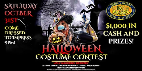 Halloween Costume Contest $1,000 in Cash & Prizes at Holy Mackerel Brewery tickets