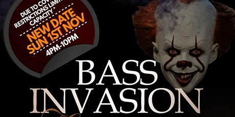 BASS INVASION | BRISTOL HALLOWEEN EDITION | WITH NICKY BLACKMARKET & GUESTS tickets