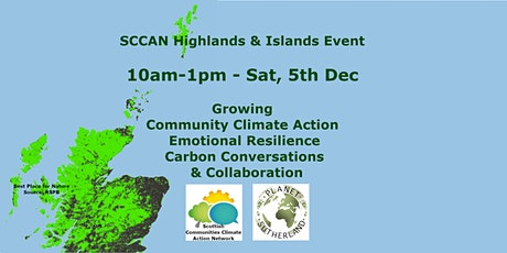 Growing Community Climate Action & Resilience in H&I 10am-1pm Sat 5 Dec tickets
