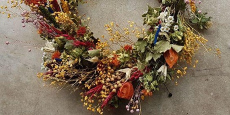 Dried Wreath Workshop- create your own bespoke dried wreath tickets