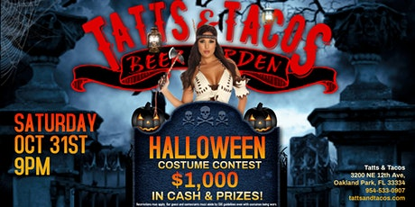 Halloween Costume Contest $1,000 in Cash & Prizes at Tatts & Tacos tickets