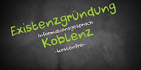 Existenzgründung Online kostenfrei - Infos - AVGS Koblenz Tickets