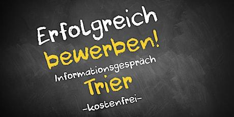 Bewerbungscoaching Online kostenfrei - Infos - AVGS  Trier Tickets