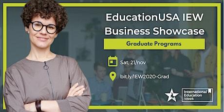 EducationUSA IEW Business Showcase - Graduate tickets