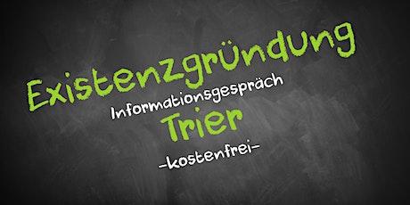 Existenzgründung Online kostenfrei - Infos - AVGS  Trier Tickets