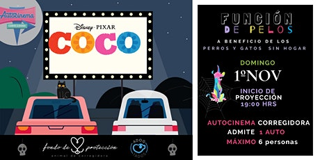 "Autocinema de ""pelos""- Función a beneficio tickets"
