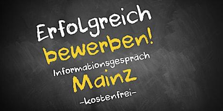 Bewerbungscoaching Online kostenfrei - Infos - AVGS  Mainz Tickets