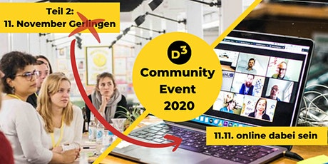 D3 Community Event (2. Teil aus Gerlingen & Digital) Tickets