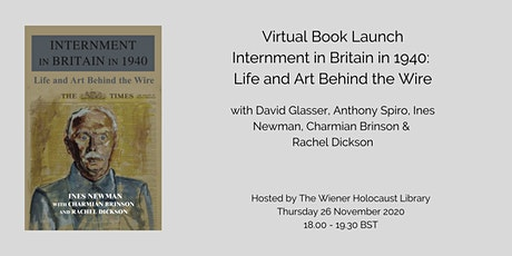 Book Launch: Internment in Britain in 1940: Life and Art Behind the Wire tickets