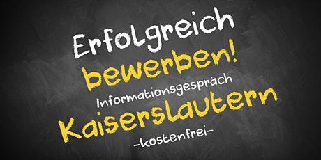 Bewerbungscoaching Online kostenfrei - Infos - AVGS Kaiserslautern tickets