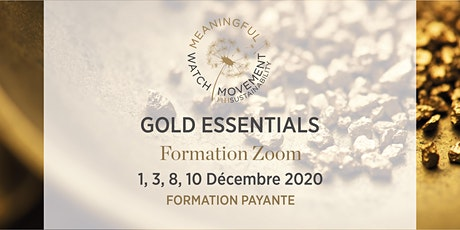 Gold Essentials - Formation zoom (payante) tickets