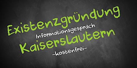 Existenzgründung Online kostenfrei - Infos - AVGS Kaiserslautern Tickets