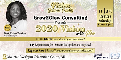 Copy of 2020 Vision Board Glow Party tickets