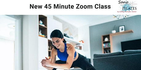 Zoom lunchtime Pilates tickets