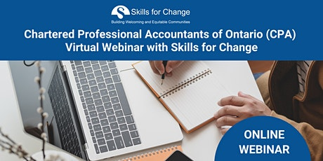 CPA Virtual Webinar with Skills for Change