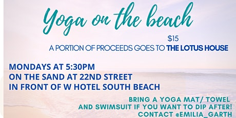 Sunset Yoga Flow tickets