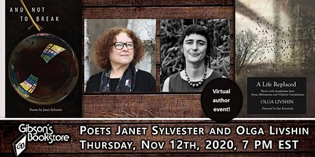 Poets Janet Sylvester and Olga Livshin tickets