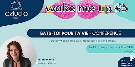 """Conférence """"Bats-toi pour ta vie"""" avec Pascale Turcotte billets"""