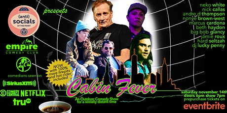 Cabin Fever Comedy Night tickets