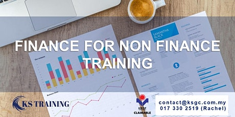 Finance for Non-Finance Personnel Training [HRDF Claimable] tickets