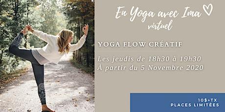 En Yoga avec Ima virtuel - Flow créatif tickets