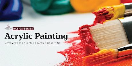 Basics Series - Acrylic Painting tickets