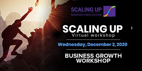 Scaling  Up Virtual Workshop tickets