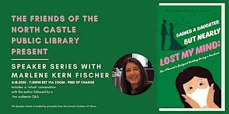 Author Talk with Marlene Fischer tickets