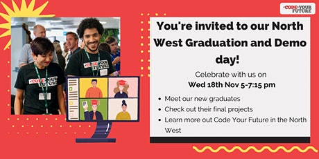 Code Your Future North West Graduation and Demo Day tickets