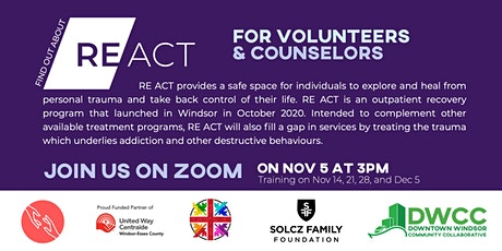 RE:ACT For Volunteers and Counselors tickets
