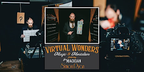 Virtual Wonders Magic & Mentalism tickets