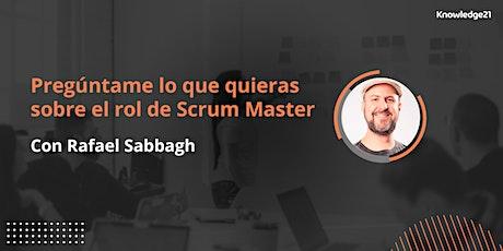 Pregúntame lo que quieras sobre el rol de Scrum Master entradas