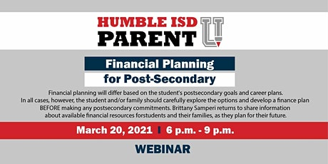 Financial Planning for Post-Secondary tickets