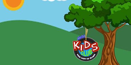 GDAC Kids Club tickets