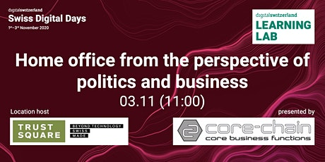 Home office from the perspective of politics and business