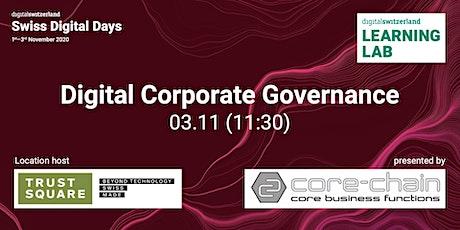 Digital Corporate Governance