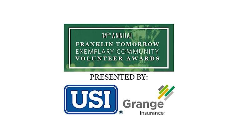 Franklin Tomorrow 14th Annual Exemplary Community Volunteer Awards image