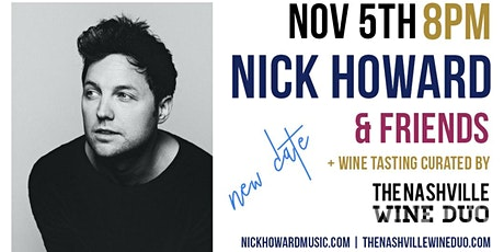 Secret Sounds | Live Music + Wine Tasting (feat. Nick Howard & Friends) tickets