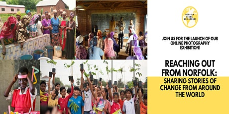 Reaching out from Norfolk: sharing stories of change from around the world tickets