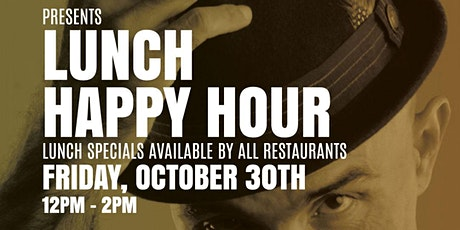 Lunch Happy Hour at The Lincoln Eatery tickets